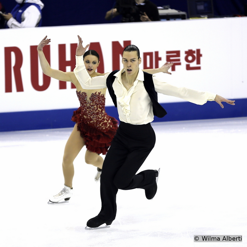 Federica Testa and Lukas Csolley - short dance