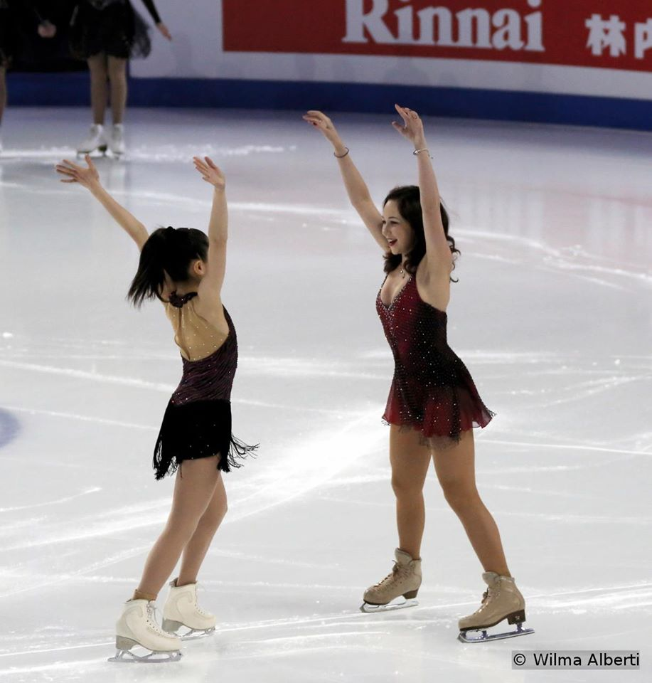 Satoko and Elizaveta, silver and gold in Shanghai