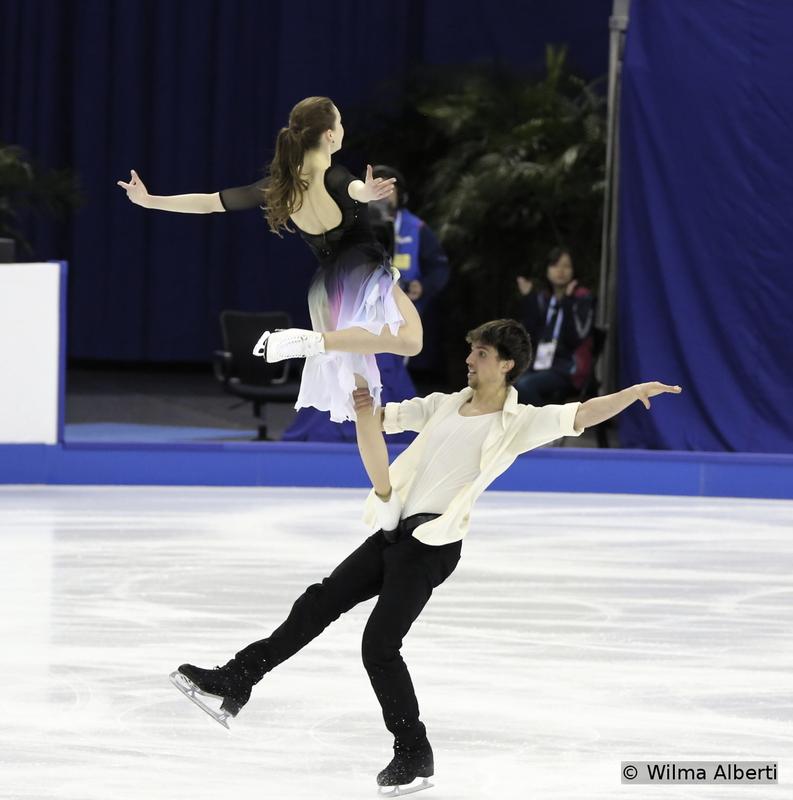 Alexandra Paul and Mitchell Islam - free dance