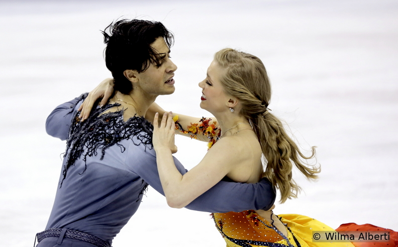 Kaitlyn Weaver and Andrew Poje - free dance