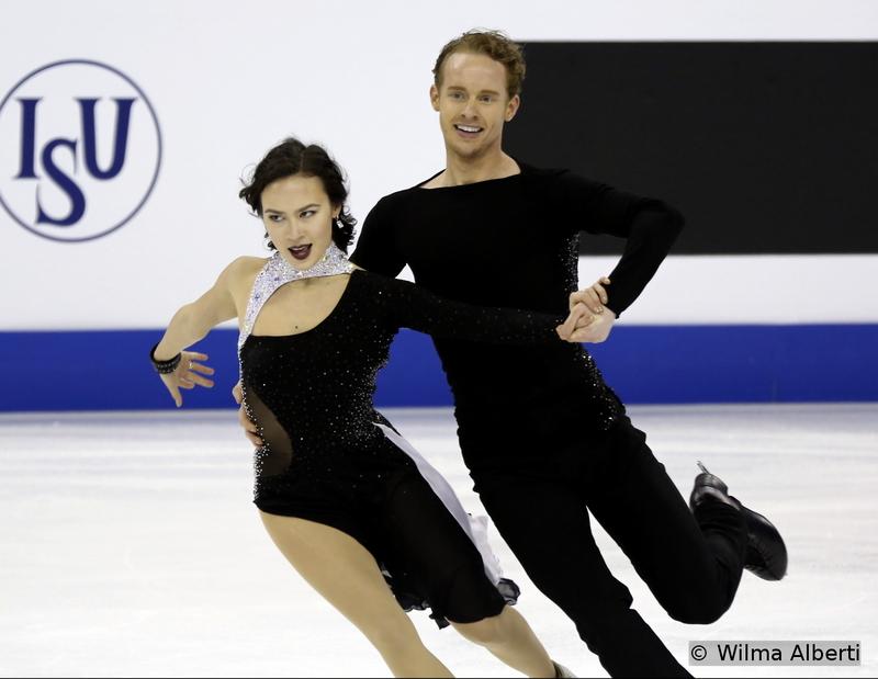 Madison Chock and Evan Bates - free dance