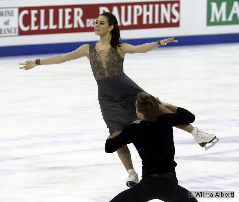 Elena Ilinykh and Ruslan Zhiganshin - free dance
