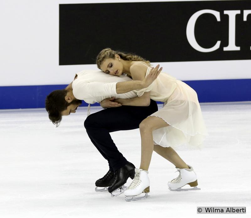 Gabriella Papadakis and Guillaume Cizeron - free dance