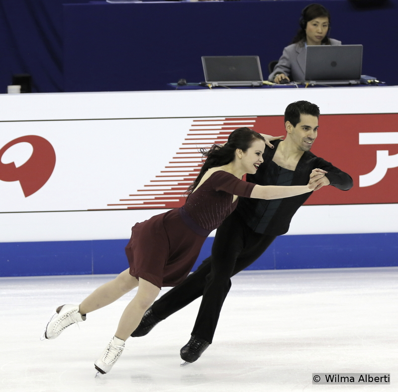 Anna Cappellini and Luca Lanotte - free dance