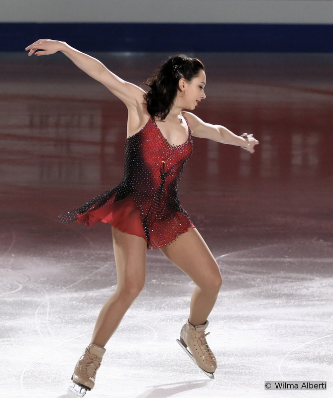"""Elizaveta Tuktamysheva was the star of the ladies event in Shanghai – her perfect triple Axel in the short program was the """"talk of the Championships"""" – and, a day later, she managed to retain the gold medal, the third Russian woman to win the World crown, after Maria Butyrskaya in 1999 and Irina Slutskaya in 2002 and 2005. During the exhibition, Elizaveta skated to a """"Blues selection"""" by J. Smek"""