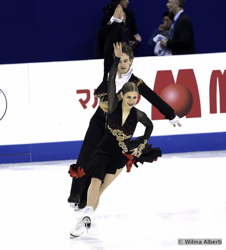 Carolina Moscheni and Adam Lukacs - short dance