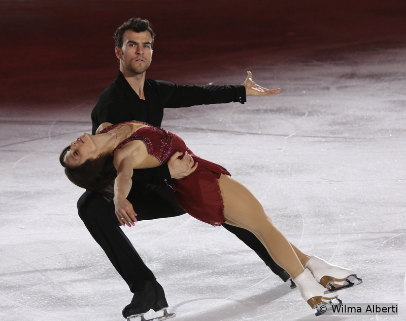"""""""We will be victorious"""", says a line in Muse's song – and they were. At the fifth Worlds of their career, Meagan Duhamel and Eric Radford ran away with the gold medal in the pairs event – and the victory left Meagan speechless: """"I have no word for the first time in my life"""". In the Gala, Meagan and Eric skated to """"Say Something"""" by A Great Big World"""