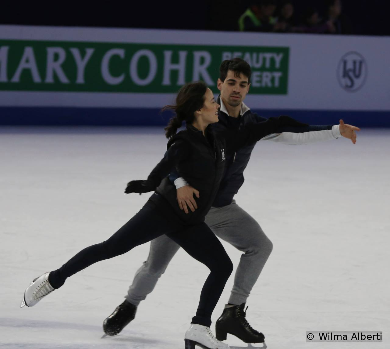 8  Madison Chock and Luca Lanotte