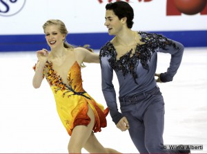 The ice dancing event at 2015 Worlds: utter joy