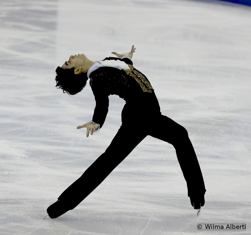 Back-to-back with Mura, another Phantom, embodied by Michael Christian Martinez – and the amazing Ina Bauer I was telling you about (probably the best one in the men's event at this time)
