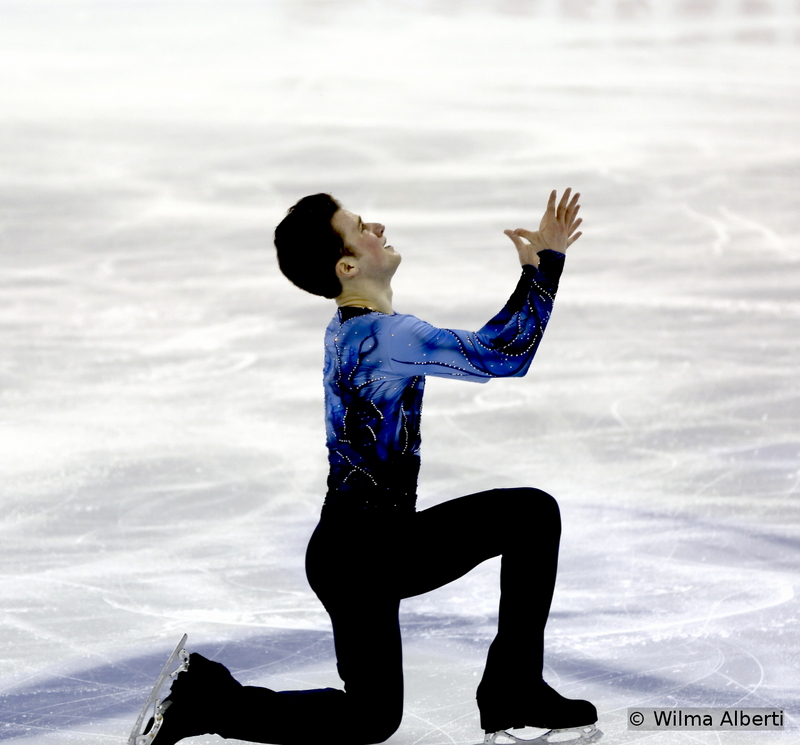 """Misha Ge: a touching performance to """"The Umbrellas of Cherbourg"""" and a well-deserved 6th place in Shanghai, at the fifth Worlds of his career (he was 30th in 2011, 19th in 2012, 16th in 2013 and 27th last year)"""