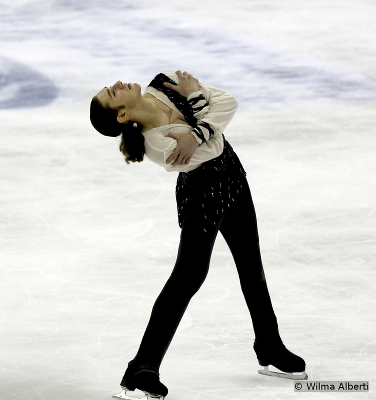 """The 20-year-old Jason Brown was Tristan, from """"Tristan and Iseult"""", last season – and he produced a great program in Shanghai, finishing the overall event on a well-deserved 4th place; this was Jason's debut at the Worlds and, given his wonderful qualities, he'll definitely make the podium the following years."""