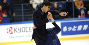 Kaitlyn Weaver and Andrew Poje rocked the ice in Espoo, Finland