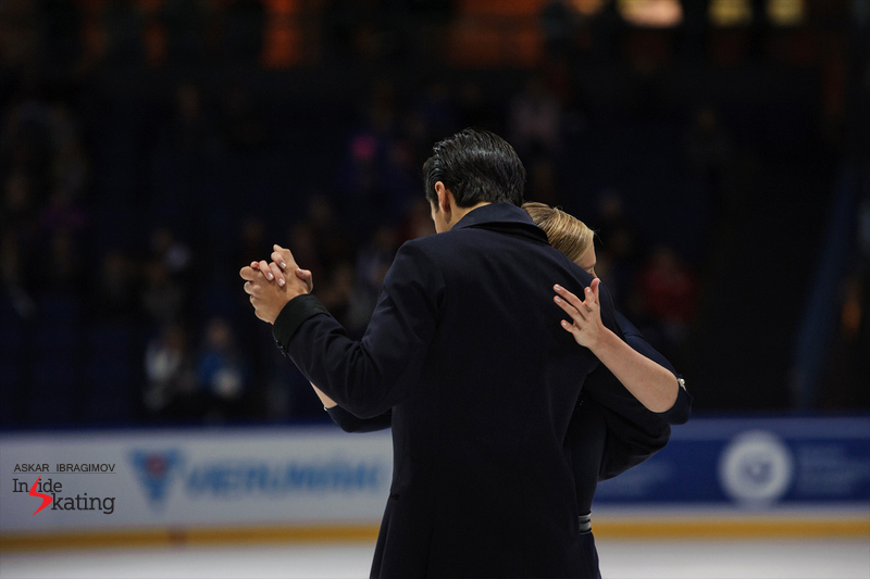 Kaitlyn Weaver and Andrew Poje SD (1)