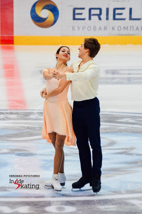 """Ksenia and Kirill performing their short dance in Minsk, to music from the Japanese Anime """"Howl's Moving Castle"""""""