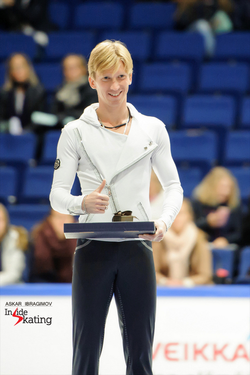 Medals ceremony men's event 2015 Fin Trophy (4)
