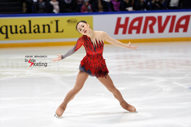 "So Youn Park's free program, to ""The Red Violin"" by John Corigliano, was the third of the night, in terms of scores. One thing is sure: the Korean lady is definitely a talent and we'll see more of her this season; her Grand Prix assignments are Skate America and Cup of China."