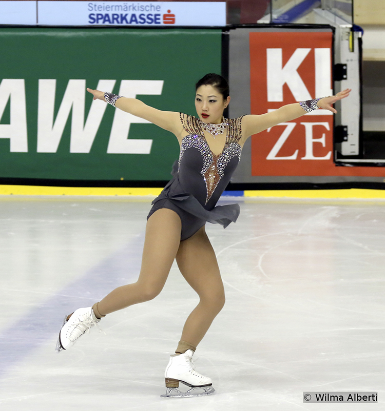 "This season, Mirai Nagasu is skating to ""Demons"" in the Short Program (choreography by Catarina Lindgren) – the 22-year-old lady finished this segment of the competition on the second place but captured the gold in the end"