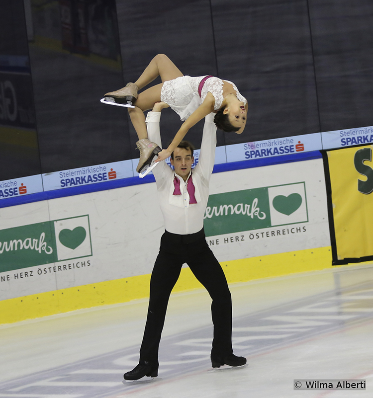 "Skating to music from the movie ""West Side Story"" (a program choreographed by Mark Pillay), Mari Vartmann and Ruben Blommaert placed second after their free skate – and captured the silver overall"