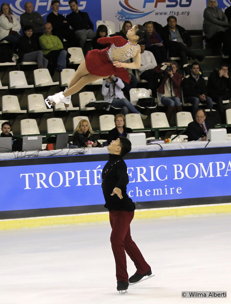 4th after SP: China's Cheng Peng and Hao Zhang
