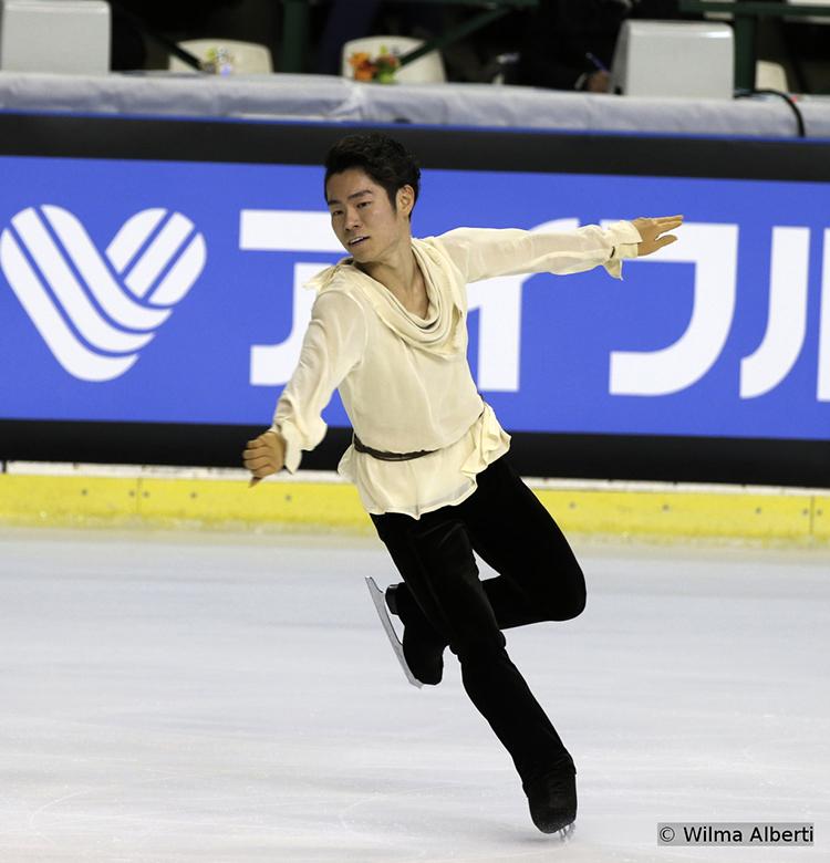 Japan's Daisuke Murakami had the third short program of the day at 2015 TEB