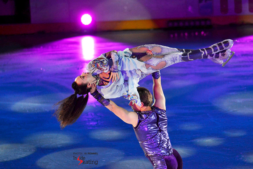 Fiona Zaldua Dmitri Sukhanov Kings on Ice Tallinn (2)