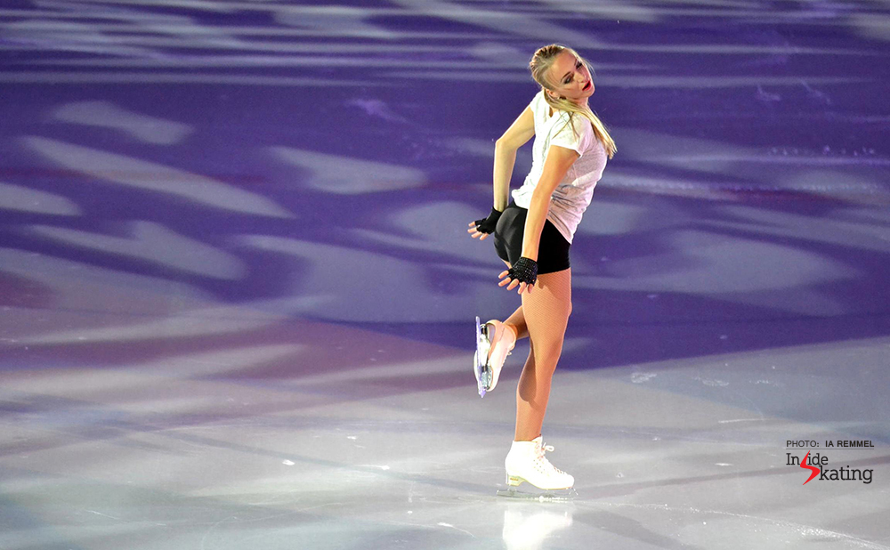 Johanna Allik Kings on Ice Tallinn