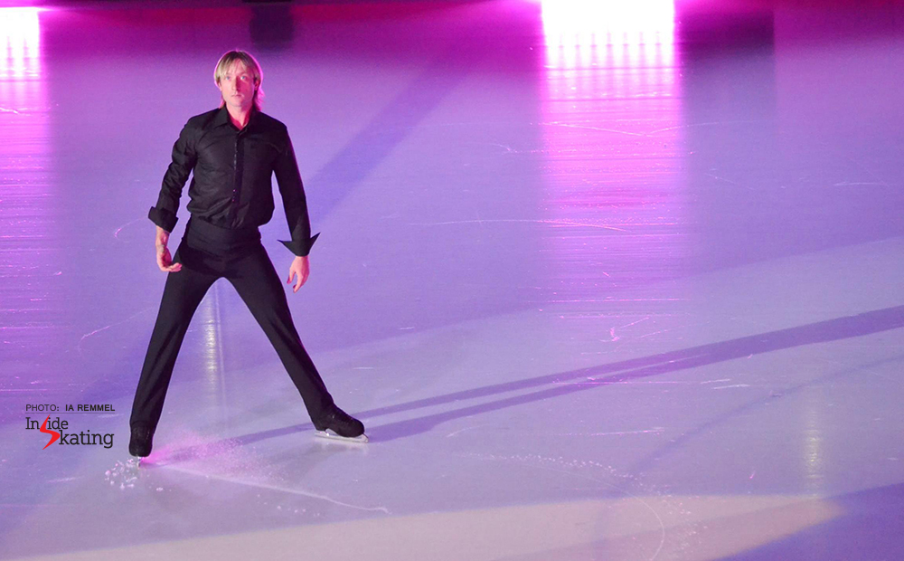 "Evgeni Plushenko, during the opening of ""Kings on Ice"" in Tallinn"