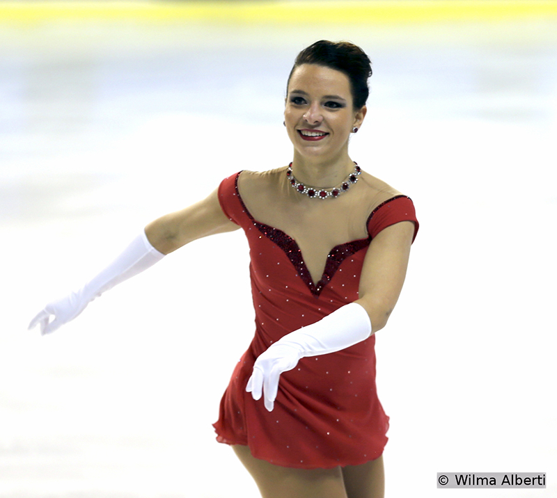 Italy's Roberta Rodeghiero had the third SP in Bordeaux
