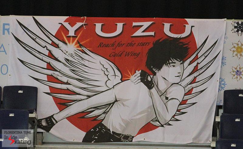 Yuzuru Hanyu fan poster 2014 GPF