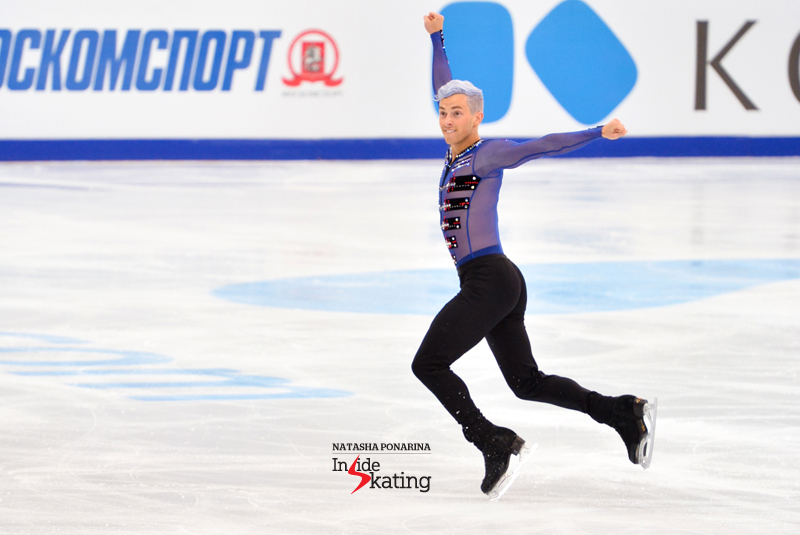 1 Adam Rippon FS Moscow Opening