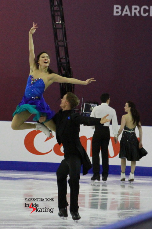 Ice dance practice 2015 Grand Prix Final (11)