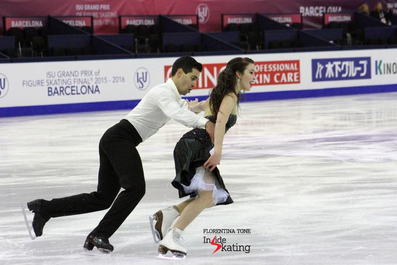 Ice dance practice 2015 Grand Prix Final (26)