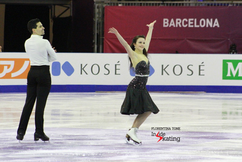 Ice dance practice 2015 Grand Prix Final (27)