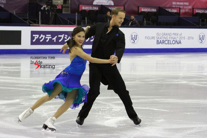 "Madison Chock and Evan Bates skated their short dance at yesterday's practice - a jewel of a program, to Andrea Bocelli's ""More"" and Il Divo's version of ""Unchained Melody"""
