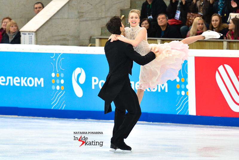 Kaitlyn Weaver Andrew Poje SD 2015 Rostelecom Cup (11)