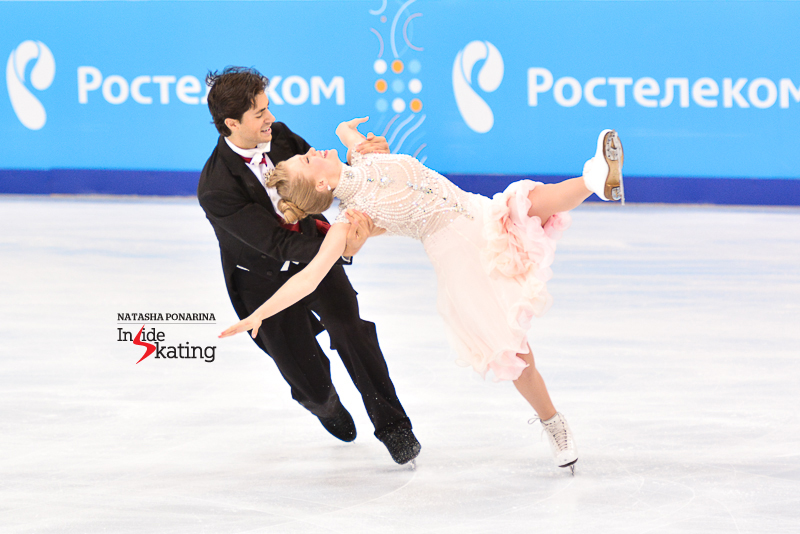 Kaitlyn Weaver Andrew Poje SD 2015 Rostelecom Cup (7)