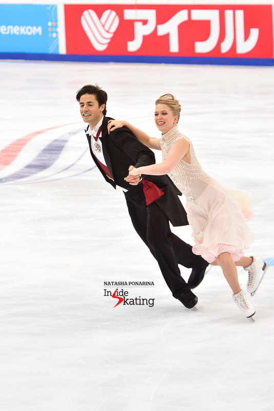 Kaitlyn Weaver Andrew Poje SD 2015 Rostelecom Cup (8)