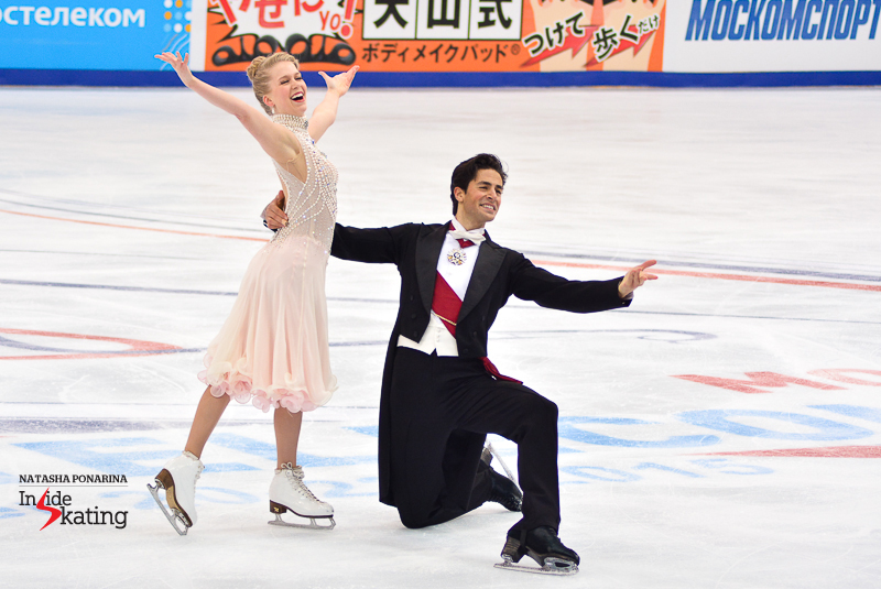 Kaitlyn Weaver Andrew Poje SD practice 2015 Rostelecom Cup (19)