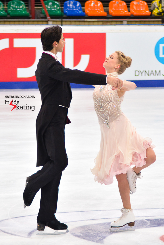 Kaitlyn Weaver Andrew Poje SD practice 2015 Rostelecom Cup (5)