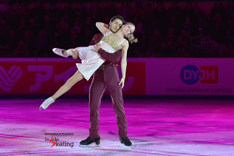 Kaitlyn Weaver Andrew Poje exhibition 2015 Rostelecom Cup (4)