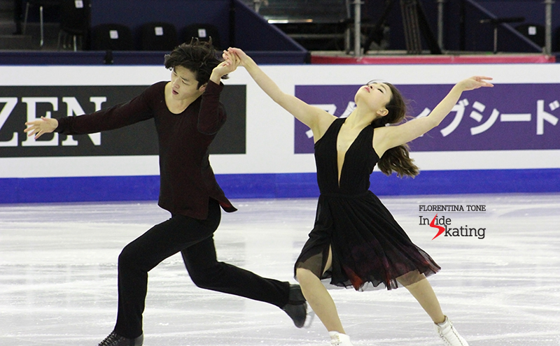 Maia and Alex - and the magic of their free dance in Barcelona (photo taken during practice)
