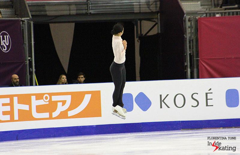 Mao Asada practice 2015 GPF (1)