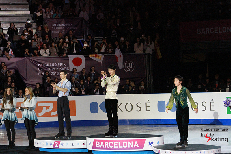 Medals ceremony men 2015 GPF December 12 (8)