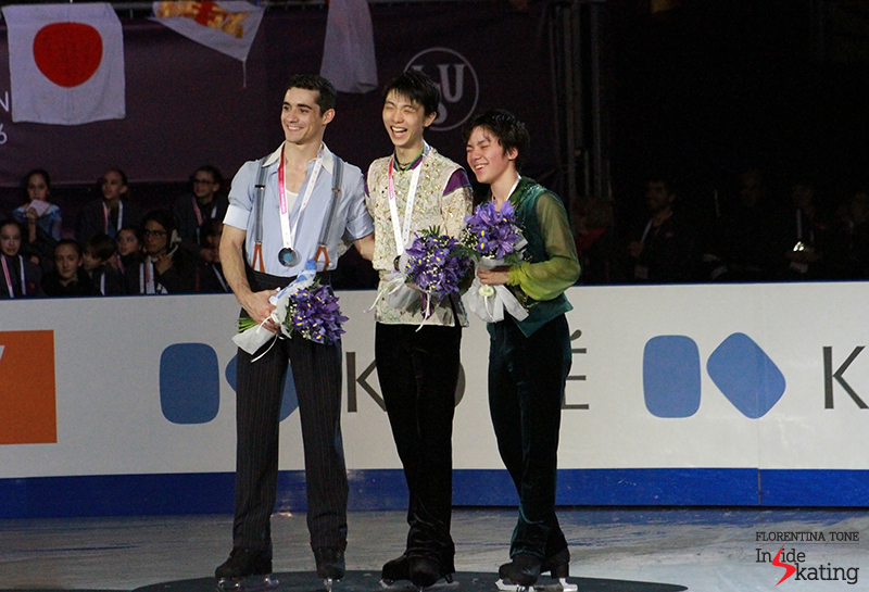 On the podium at 2015 GPF December 12 (1)