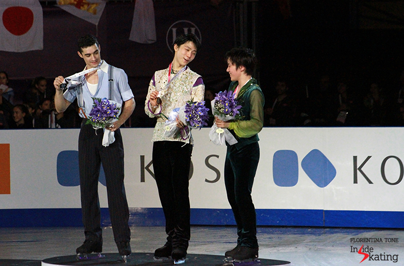On the podium at 2015 GPF December 12 (2)