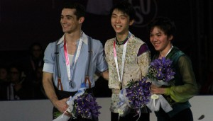 The heroes of the day at 2015 Grand Prix Final