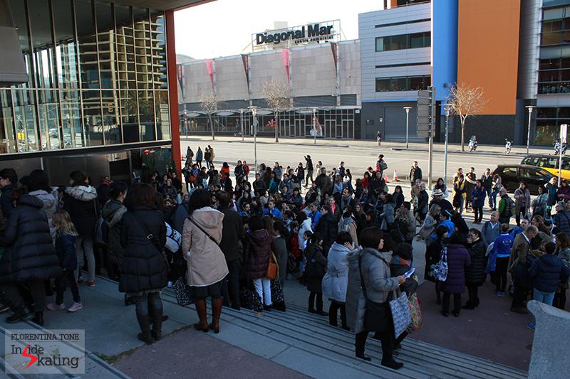 Outside CCIB arena 2015 GPF (2)
