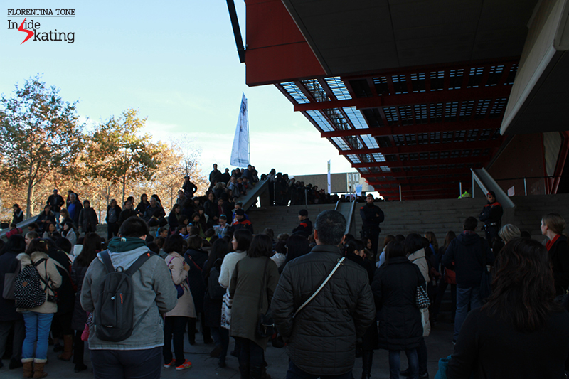 Outside CCIB arena 2015 GPF (4)