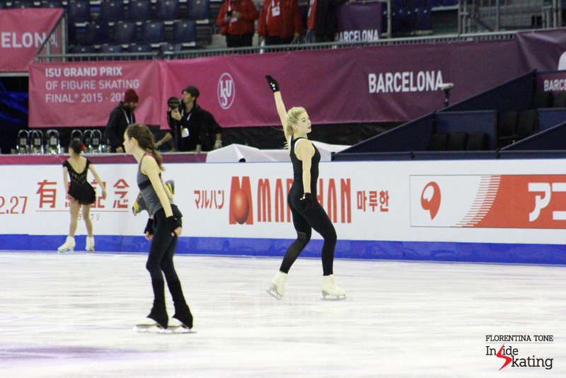 Ladies practice at 2015 GPF